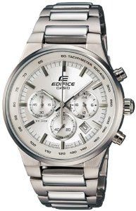 Casio General Men's Watches Edifice Chronograph EF-500BP-7AVDF - WW Casio. $64.95. Quartz Movement. Mineral Crystal. Edifice Collection. 39mm Case Diameter. 100 Meters / 330 Feet / 10 ATM Water Resistant. Save 48%!