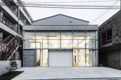 Takahashi Hiroko Oshiage Studio by Schemata Architects