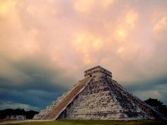 Chichen Itza which is historic ruins of mayan civilization in mexco.