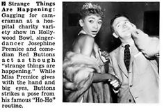 Josephine Premice and Red Buttons - Jet Magazine, July 30, 1953 | Flickr