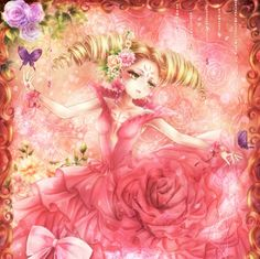 The Flower - eauty, twintails, pink, anime, sweet, dress, twin tails, card captor sakura, twin tail, female, magical girl, girl, clow card, clow, cardcaptor, ebautiful, blond, blonde hair, blond hair, card captor, blossom, flower, loli, gorgeous, nice, long hair, petals, blonde, beauty, lovely, lolita, angelic, twintail, pretty, ccs, gown, anime girl