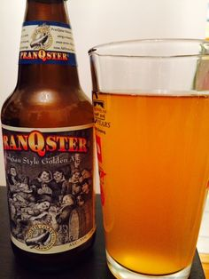 Beer #22: 12/28/14. Pranqster, Belgian Strong Pale Ale. North Coast Brewing Company. Great tasting Belgian with an almost golden glow, the type of beer that evolves after each sip. 4.5 Stars