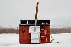 Photo Essay: Portraits of Canada's Ice Fishing Huts