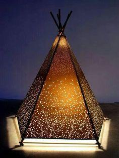 Pretty tepee