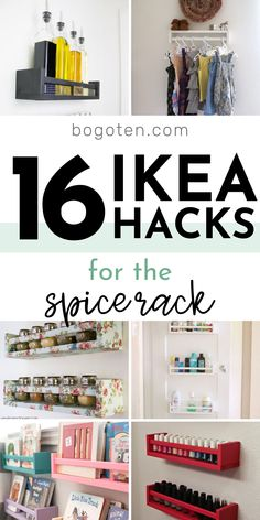 16 Awesome Ways to Hack the Ikea Spice Rack