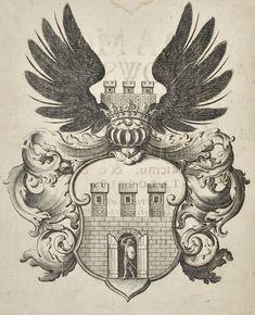 "Coat of arms of Adam Kazanowski: (1) in Paweł Szczerbicz's ""Speculum Saxonum abo Prawo Saskie y Magdeburskie"" by Willem Hondius, published by Piotr Elert in Warsaw, 1646, Private collection, (2) with a Sheaf of the House of Vasa in Jan Kwiatkiewicz's ""Umbrae minores Sigismundi Casimiri"" by Franciszek Cezary in Kraków, 1649, Jagiellonian Library, (3) in Adam Jarzębski's ""Short Description of Warsaw"", 1643, Kórnik Library. #adamkazanowski #17thcentury #1640s #artinpl #print Krakow, Coat Of Arms, 17th Century, Rooster, Warsaw, Animals, House, Collection, Art"