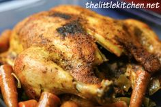 Whole Chicken in a Slow Cooker from The Little Kitchen