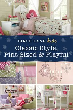 Mixing classic styles and fun designs, Birch Lane Kids offers a selection of furniture, bedding, decor, and more to make your kid's room look just as great as the rest of your home. Our latest finds are at Birchlanekids.com, and orders over $49 ship FREE. Sign up now to learn more and receive updates about exclusive sales.