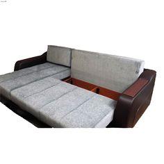 Ultra Sectional Sleeper Optimum Grey by Sunset Furniture