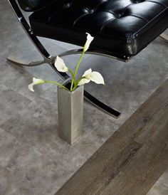 Cutting edge beauty: grey will dominate the flooring market in 2016.