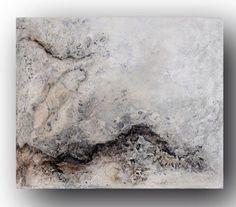 FATAMORGANA. Geïnspireerd door wat je gaat zien als er niets te zien valt. Inge van Boven. Canvasdoek 60/50 #schilderijen #gemengde techniek #abstract