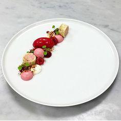 Raspberry, Pistachio & Yogurt. By @chefgustavsson  #DessertMasters