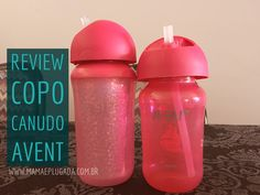 "Review Copo Canudo ""My Twist n Sip"" Avent"