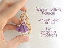 Rapunzel kawaii in polymerclay tutorial by AngeniaC.deviantart.com on @DeviantArt