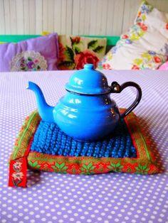 Tea Pots, Bohemian, Sewing, Knitting, Tableware, Blog, Inspiration, House, Biblical Inspiration
