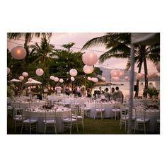 Wedding Idea : Beach Reception