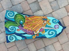 I am a tropical artist from Bradenton, FL. My goal is to bring my art to you through a wide array of colorful purses for the tropical lifestyle. Here's to livin' the beach life thru a tropical world of color. Palm Frond Art, Palm Fronds, Tropical Colors, Tropical Art, World Of Color, Love Painting, Mermaids, Wall Murals, My Arts