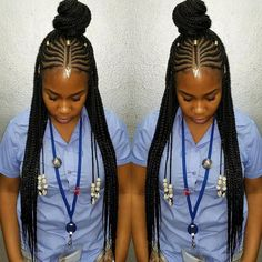 87 Cornrow Hairstyles for Black Women Ideas in Next time you're stuck trying to think up new ideas for your natural hair, try one of these stunning looks. Whether you have short hair, long braids, ., Cornrow Hairstyles for Black Women Black Girl Braids, Braids For Black Hair, Girls Braids, African Braids Hairstyles, Braided Hairstyles, Short Hairstyles, Hairstyles Pictures, Hairstyles 2016, Ethnic Hairstyles