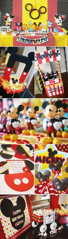 Cutest Mickey Mouse Party Ideas