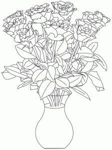 rosas en el florerosellos digitales