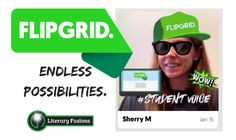 Use Flipgrid in your classroom to get students to share ideas, listen to others, and respond.  Also to have fun!