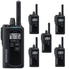 Kenwood NX-P500 Digital Analog 6CH 2W UHF 2-Way Radio 6-Pack