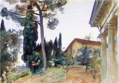 Corfu - John Singer Sargent