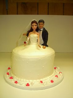 Mom made all the girls Barbie cakes when we were little. Maybe when mags eventually gets married we can make one of these!