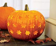DIY: Star Pumpkin Carving #Halloween  #craft