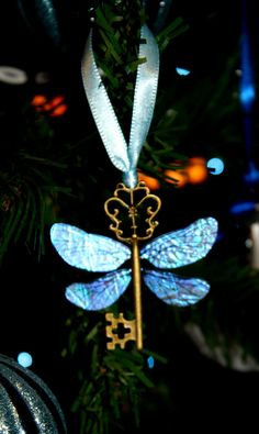 Harry Potter Sorcerer's Stone Winged Key Ornament