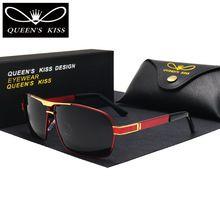 QUEENS KISS HD Polarized Men Sunglasses brand designer Retro Square Sun  Glasses Accessories driving goggles oculos de sol shades - Tshirt and Jeans  Store b9508a8556