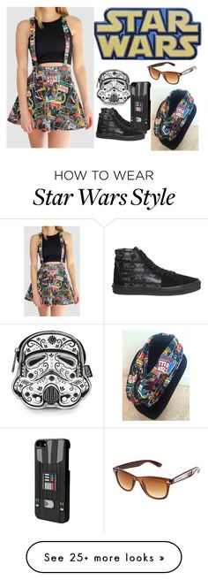 """Star Wars"" by supercatcharlie on Polyvore featuring Disney and Vans"