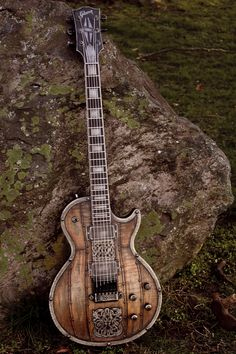 The Viking Les Paul from Hutchinson Guitars