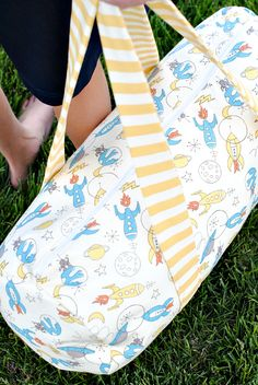 Kids Duffel Bag Pattern