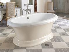 Transitional | Design Photos | Design Center | Aquatic Bath Serenity 13 Soaking Tub 66x38 x 26