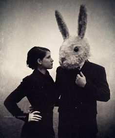 Lady and the Bunny Man