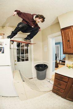 Skate everywhere!!! Bam Margera