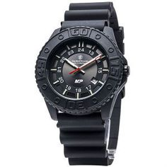 Smith & Wesson M Men Women Wrist Watch Tritium Tactical Military Police Swat