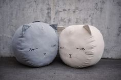 Cat pouf from Boramiri