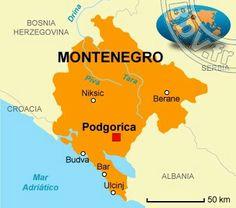 Montenegro país independiente desde el 2006..