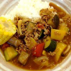 夏野菜カレー - 11件のもぐもぐ - 夏野菜カレー by joyfulcook