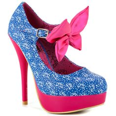 Bow Me Platform - Blue Star - My collection from top #designers