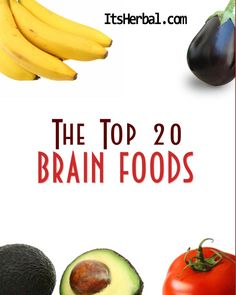 The Top 20 Brain Foods (Free Ebook) at Scribd