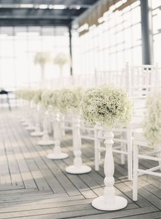 20 Ways To Style Your Aisle: http://www.stylemepretty.com/2014/03/11/20-ways-to-style-your-aisle/