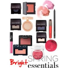 Bright spring makeup essentials