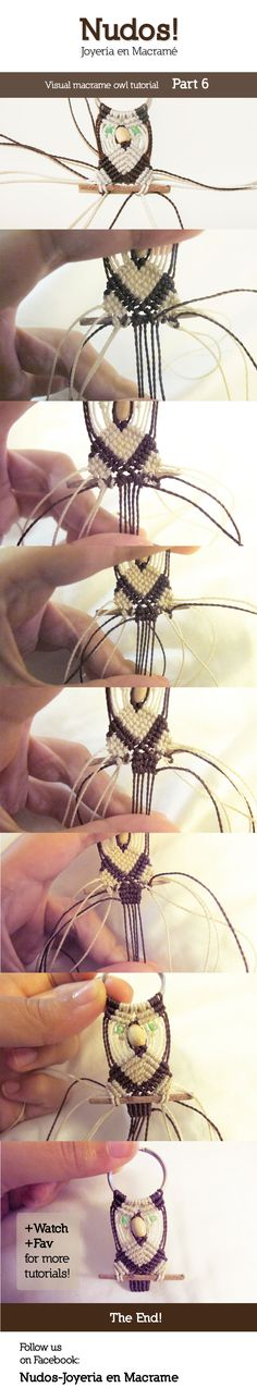 Macrame Owl Tutorial - Part 6 by enenauta on DeviantArt