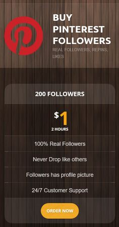 200 followers only $1