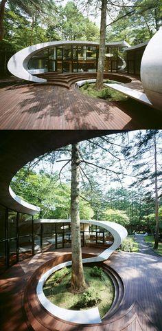 Shell House par Kotaro Ide à Nagano