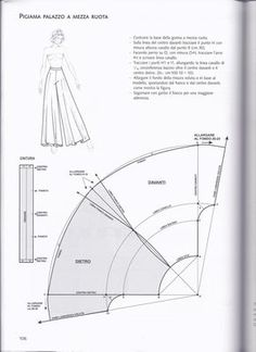 Clippedonissuu From La Tecnica Dei Mode - Diy Crafts Sewing Pants, Sewing Clothes, Sewing Coat, Doll Clothes, Dress Sewing Patterns, Clothing Patterns, Coat Patterns, Shirt Patterns, Fashion Sewing
