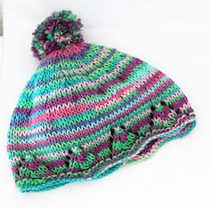Baby boy hat Baby girl hat Boho knitting by DeborahGraceDesigns